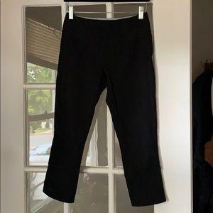 Kyodan Black Cropped Leggings - Size Small